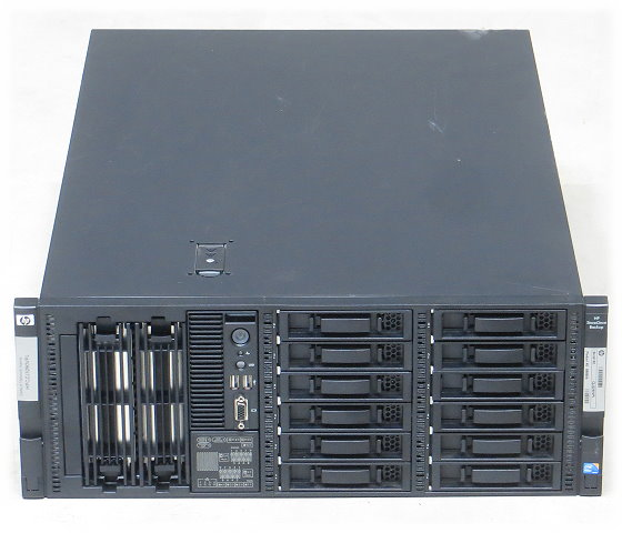"HP StoreOnce 4420 Backup Storage 12x 3,5"" 2x 6-Core X5690 96GB 2x Smart Array P411"