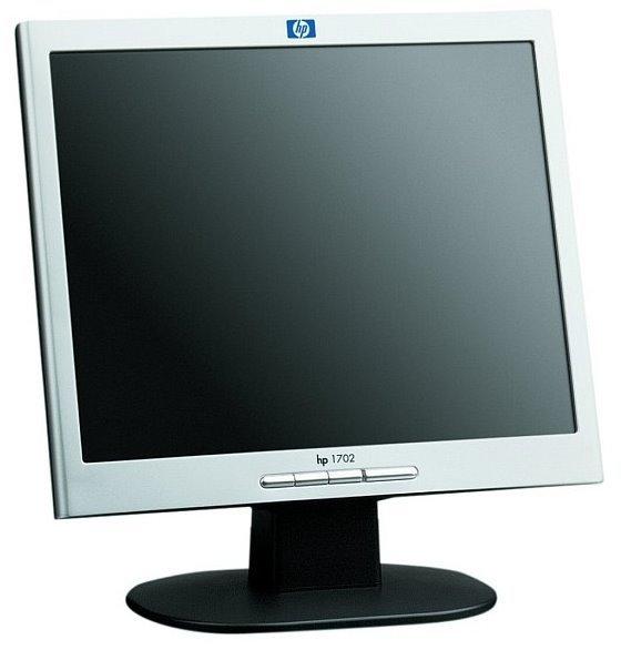 """17"""" LCD HP TFT 1702 1280 x 1024 VGA Monitor"""