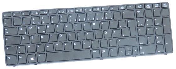 original HP Tastatur deutsch QWERTZ für Probook 6560b & 8560p 641180-041