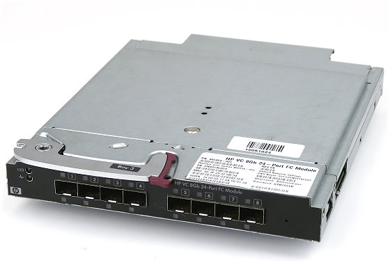 HP VC 8Gb 24-Port FC Module Virtual Connect Fibre Channel Plug-In Modul 466539-001