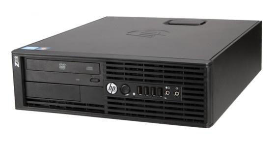 HP Z210 SFF Xeon Quad E3-1230 @ 3,2GHz 8GB 1TB DVDRW Quadro NVS 300