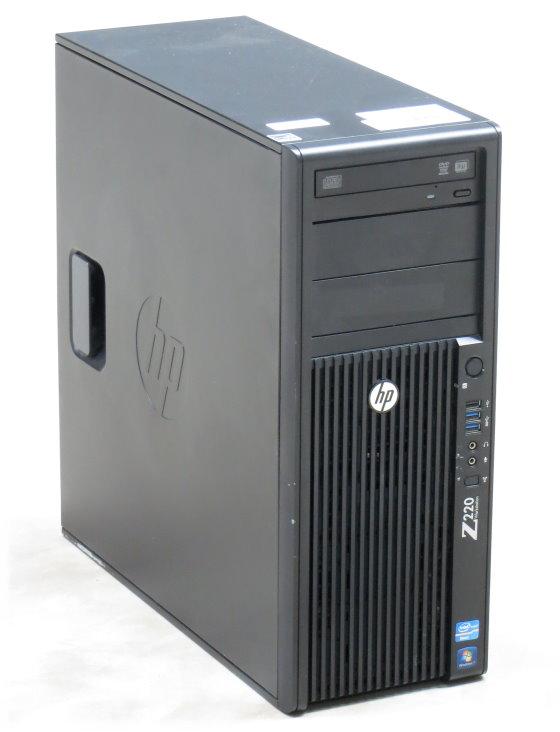 HP Z220 Core i3 3220 @ 3,3GHz 8GB 500GB DVD±RW Geforce 9300 GE Workstation Tower