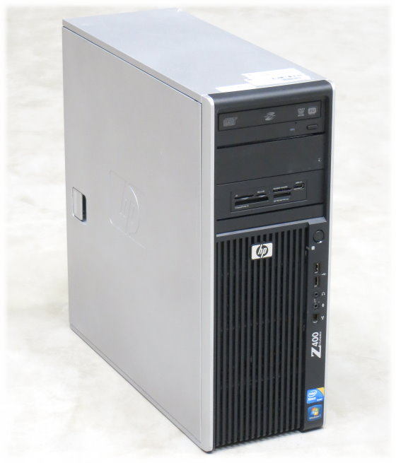 HP Z400 Xeon Quad Core W3520 @ 2,67GHz 12GB 500GB DVD±RW Quadro NVS 295
