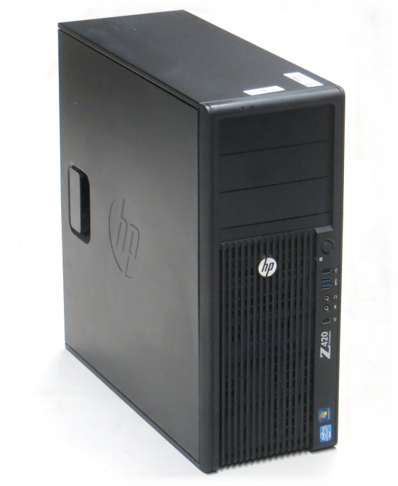 HP Z420 Xeon Quad Core E5-1620 v2 @ 3,7GHz 32GB 1TB Quadro K2000/2GB Workstation