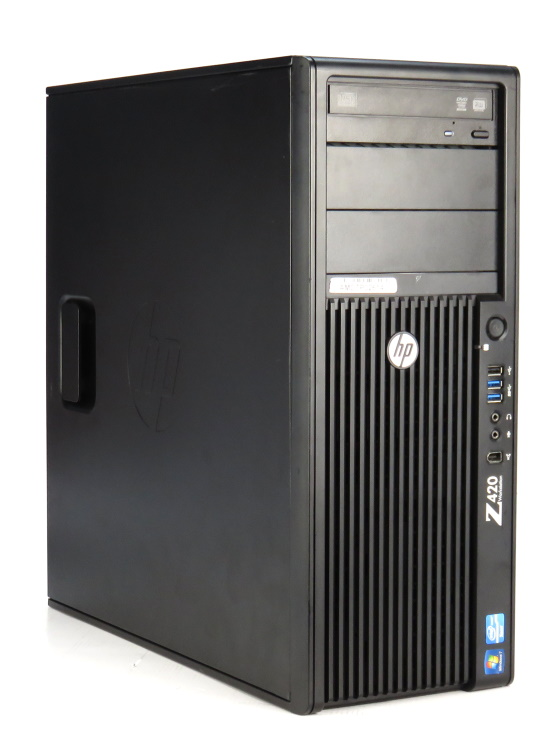 HP Z420 Xeon Quad Core E5-1620 @ 3,6GHz 16GB 500GB Quadro K2000 DVD Workstation