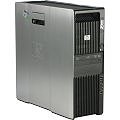 HP Z600 2x Xeon Quad Core E5504 @ 2GHz 4GB 500GB DVD±RW Radeon X1300