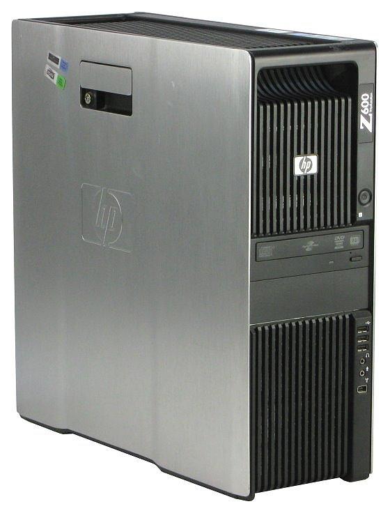 HP Z600 2x Xeon Quad Core E5530 @ 2,4GHz 6GB 750GB DVD±RW Quadro FX570 B-Ware
