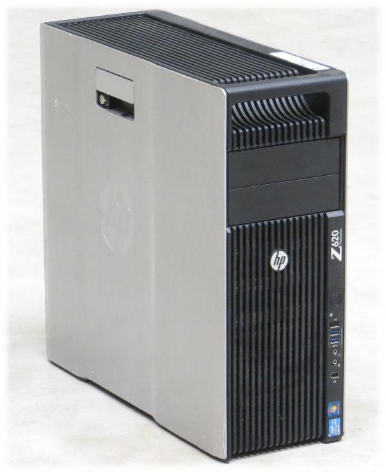 HP Z620 Intel 6-Core E5-2630 v2 @ 2,6GHz 64GB Quadro K2000/2GB 800W 2x PCIe x16 Gen3