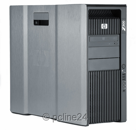 HP Z800 Xeon Hexa Core X5650 @ 2,66GHz 32GB 450GB DVD±RW Quadro 2000