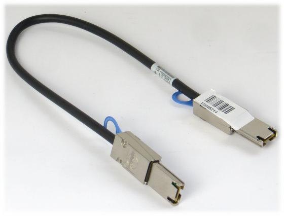 HP mini SAS Kabel 2x SFF-8088 407344-001 0,5m