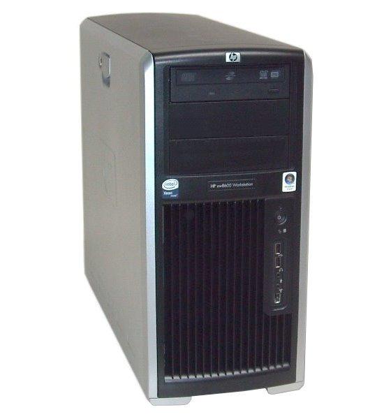 HP XW8600 Xeon Quad Core X5450 @ 3GHz 8GB ohne Festplatte Quadro FX1700 B-Ware