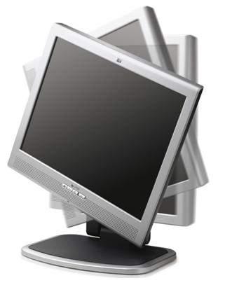 """15"""" TFT LCD HP L1530 Pivot Lautsprecher VGA & DVI"""
