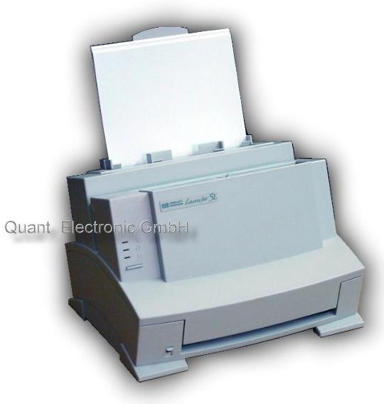 HP Laserjet 5L 4 ppm 600 dpi ohne Toner platzsparend Parallel-Port (kein USB)