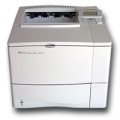 HP LaserJet 4050 Lasedrucker vergilbt