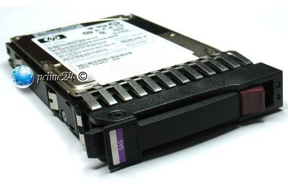 "HP 2,5"" 146GB 10K SAS 6G Dual Port ST9146803SS im Proliant Tray EC0146FAWHU"