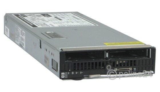 HP BL465c G5 2x AMD Opteron Quad Core 2352 @ 2,1GHz 16GB Blade Server AN920A