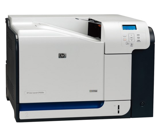 HP Color LaserJet CP3525n 30 ppm 256MB NETZ Farblaserdrucker defekt an Bastler