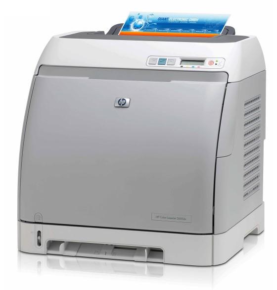 HP Color LaserJet 2605dn 12ppm 64MB Duplex 56.100 Seiten Farblaserdrucker B-Ware