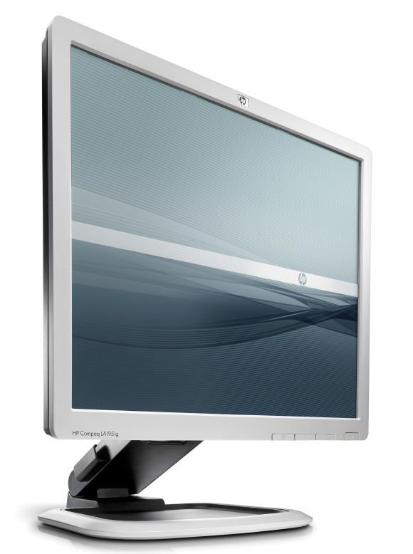 "19"" TFT LCD HP Compaq LA1951g Pivot 1280 x 1024 Monitor"