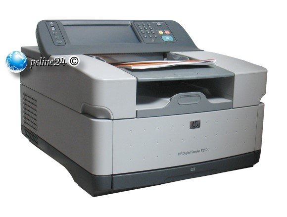 HP Digital Sender 9250C ADF Scanner 256MB RAM 36GB Festplatte NETZ