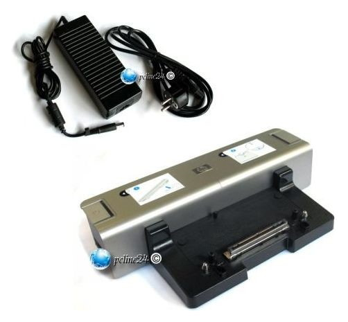 HP KP080AA Docking + Netzteil 8510p 6910p NW8440 NW9440 HSTNN-I09X