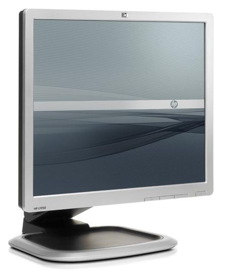 """19"""" TFT LCD HP L1950 800:1 5ms DVI USB PIVOT"""