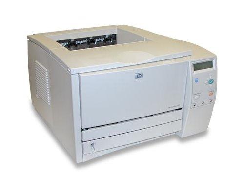 HP LaserJet 2300 24 ppm 48MB unter 50.000 Seiten Lasedrucker vergilbt