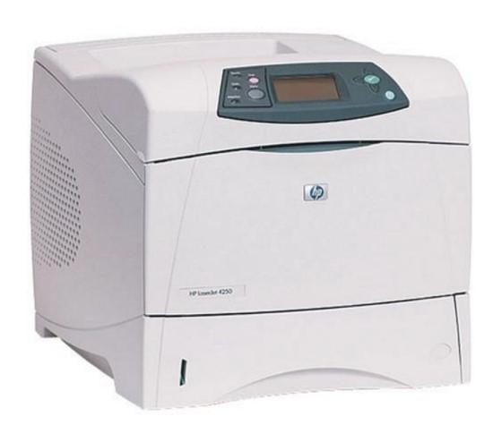 HP LaserJet 4250N 43 ppm 80MB LAN Laserdrucker ohne Toner B- Ware