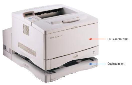 hp laser jet 5100: