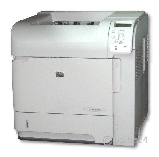 HP LaserJet P4014n 128MB defekt an Bastler ohne Fuser ohne Tonerkassette