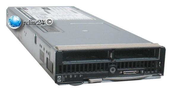 HP ProLiant BL460c 2x Xeon Quad Core E5430 @ 2,66GHz 8GB E200i Blade Server