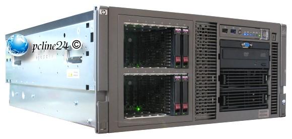 Hp Proliant Ml370 G5 2x Xeon Quad Core E5410 2 33ghz 12gb