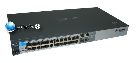 HP Procurve 2510-24 Switch J9019B 24x 10/100 2x GBit