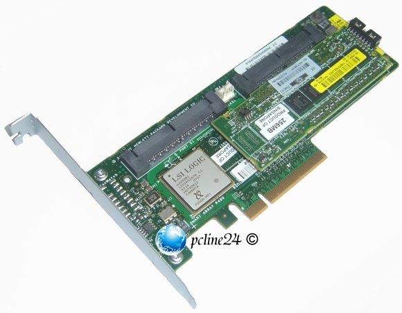 HP Smart Array P400 8-port SAS RAID PCI-E 512MB