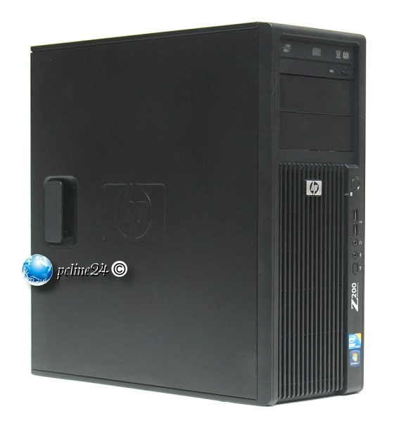 HP Z200 Xeon X3450 @ 2,66GHz 4GB 500GB DVD±RW Quadro FX580 Workstation