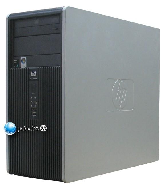 HP dc5850 MT Athlon 64 X2 Dual Core 4450B @ 2,3GHz 2GB 80GB DVD Computer B-Ware