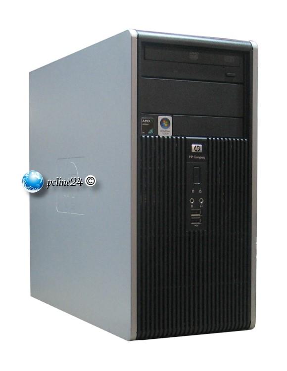 HP dc5850 Mini-Tower Athlon 64 X2 5200B 2x 2,7GHz 2GB 160GB DVD-Brenner
