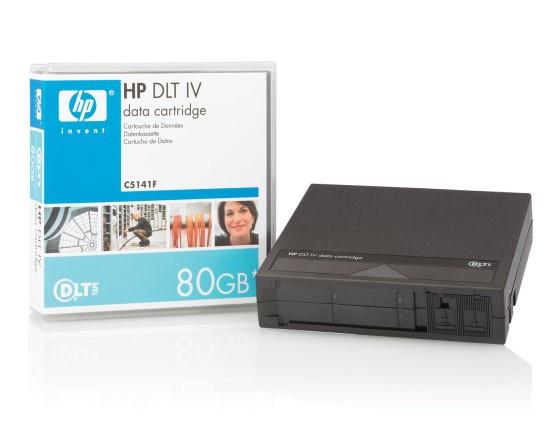 HP DLTtape IV C5141F 40GB/ 80GB Data Cartridge NEU