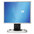"19"" LCD TFT HP LP1965 1000:1 6ms USB 2x DVI Pivot silber/schwarz"