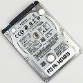 """2,5"""" Hitachi HTS723216A7A364 160GB SATA 7200rpm Travelstar Z7K320 Festplatte NEU"""