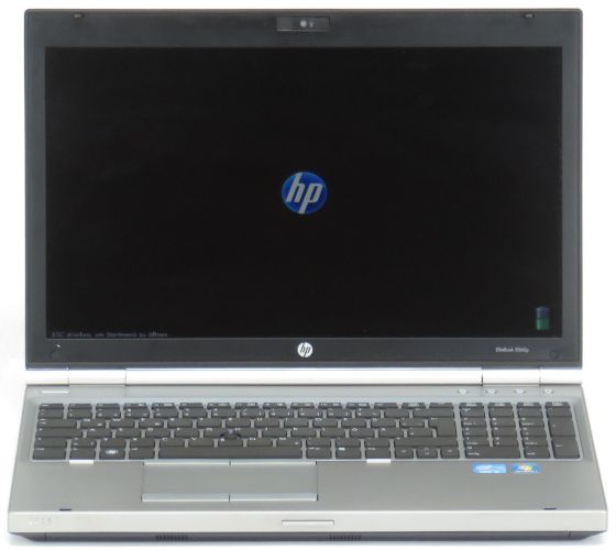"15,6"" HP EliteBook 8560p i7 2620M @ 2,7GHz 4GB 320GB Webcam (ohne Akku) B-Ware"