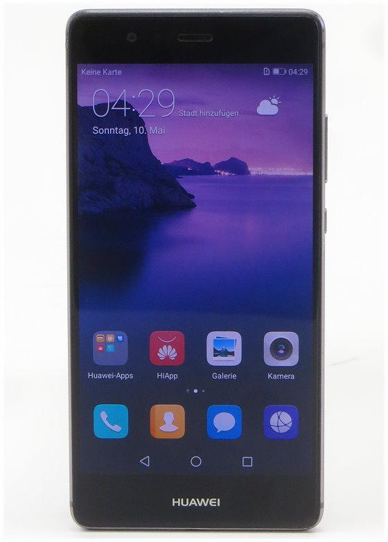 "Huawei P9 3GB 32GB Smartphone 5,2"" EVA-L09 SIMlock-frei ohne Ladegerät B- Ware"
