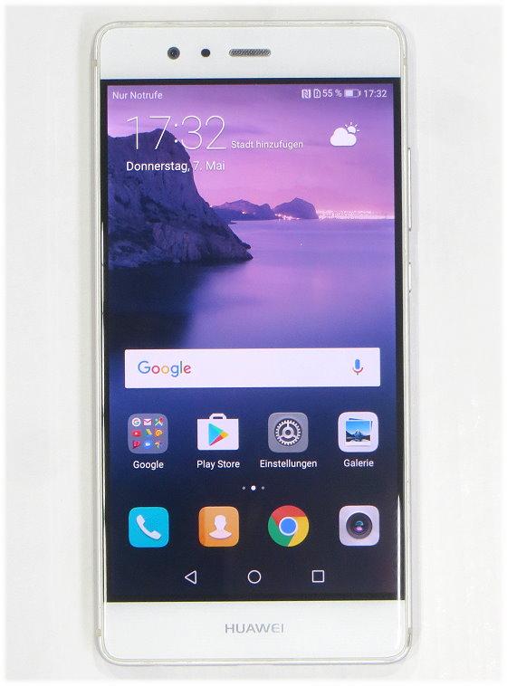 "Huawei P9 3GB 32GB Smartphone 5,2"" EVA-L09 Kratzer Glasbruch ohne Ladegerät B- Ware"