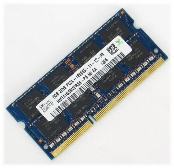 Hynix 8GB PC3L-12800S DDR3 1600MHz SO DIMM 204pin Arbeitsspeicher für Notebook