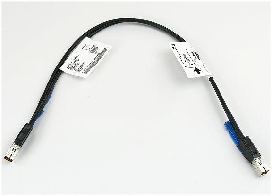 IBM 12Gb SAS Cable Kabel mini SAS SFF-8644 to SFF-8644 0,6m P/N 00Y8350