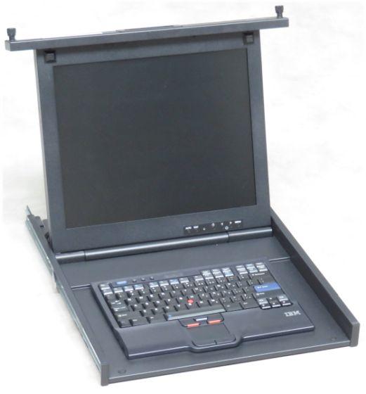 """19"""" Rack IBM 1723-HC1 17"""" TFT Rack Console englisch (ohne Rackschienen)"""