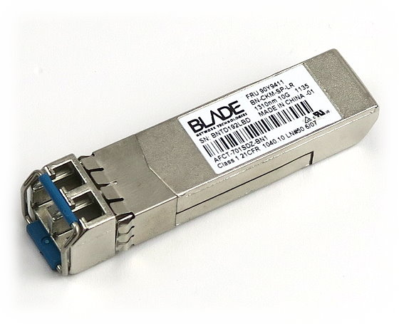 IBM BN-CKM-SP-LR 10G GBIC SFP+ 1310nm LC 10Gbps FRU 90Y9411