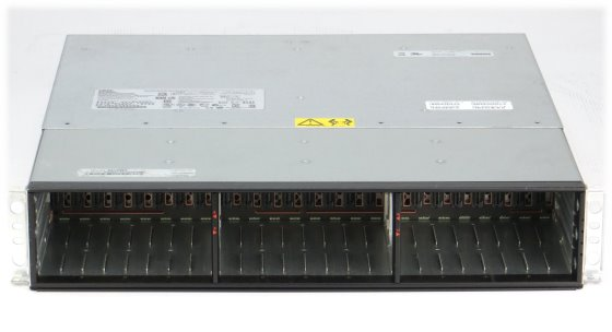 IBM DS3524 Data Storage 24x SFF 2x Cache Controller Dual Port 6Gb 68Y8481 2x PSU