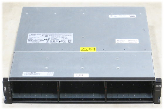 IBM DS3524 Data Storage 24x SFF 2x PSU 2x Cache Controller Dual Port 6Gb 68Y8481 7x 49Y4123