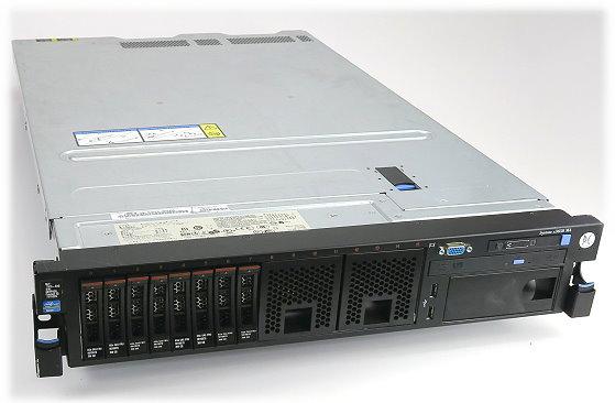 IBM System X3650 M4 2x Xeon Hexa Core E5-2630 v2 @ 2,3GHz 64GB 8x 300GB 2x PSU